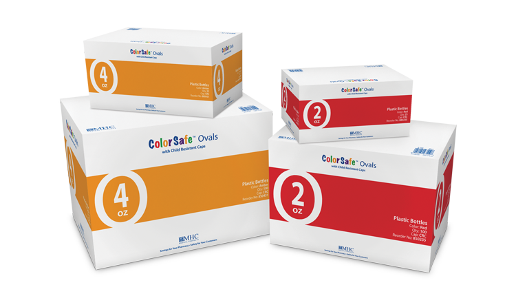 Colorsafe Ovals Product Boxes