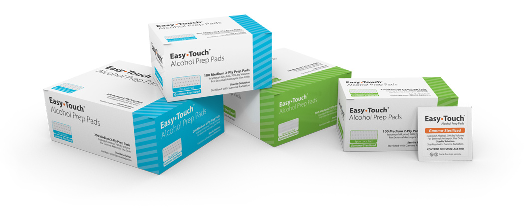 EasyTouch Alcohol Prep Pads