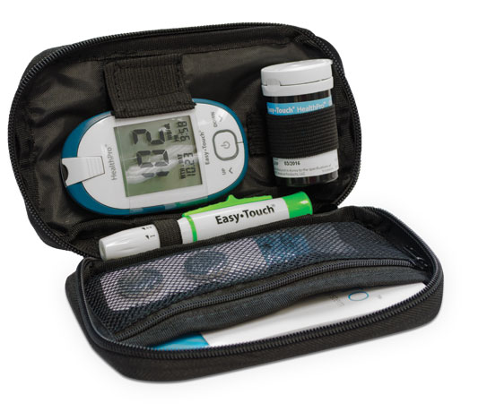 EasyTouch HealthPro Glucose Meter Deluxe Carrying Case