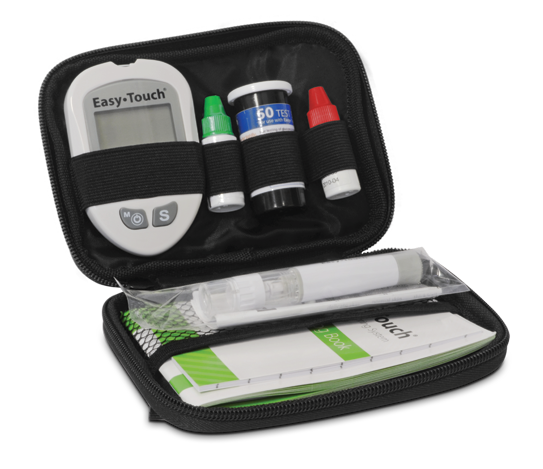 EasyTouch Glucose Meter Deluxe Carrying Case