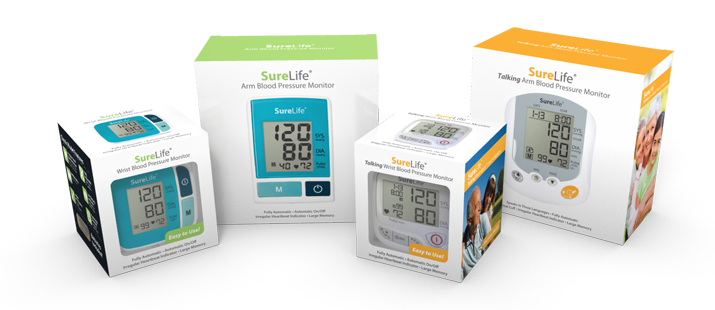 surelife blood pressure monitors