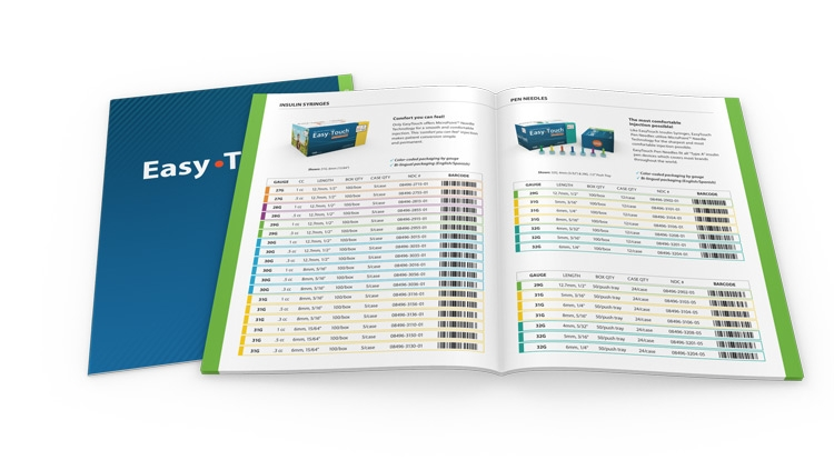 EasyTouch Diabetic Catalog
