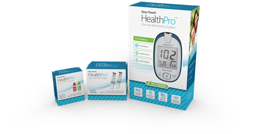 healthpro meter and test strips