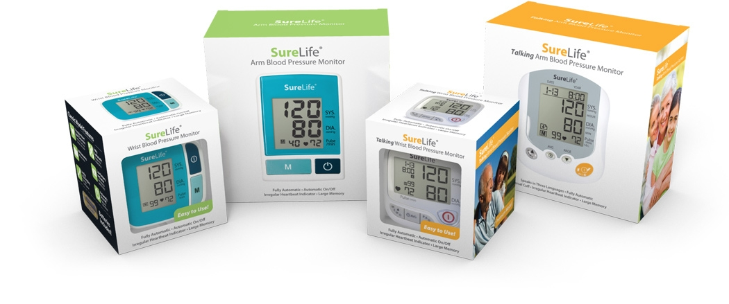 surelife bp monitors